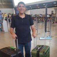 Paul at Rio airport
