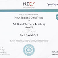 Adult and Tertiary Teaching Certificate