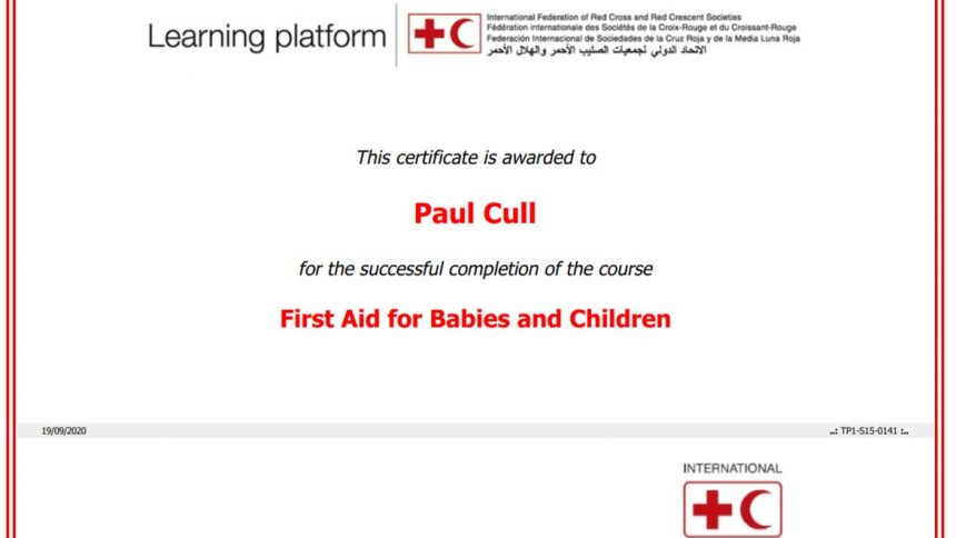IFRC First aid for babies and children