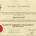 Master of Emergency Management