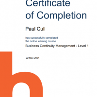 PH_BCM Level 1_Certificate of Completion