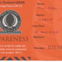 USAR 1A Orange Ticket
