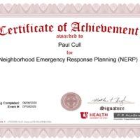 Utah NERP Certificate